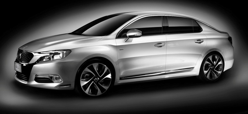 Citroen DS Brings Parisian Street Style to Beijing with DS 5LS -- 5LS R Version Packing 300HP! 22
