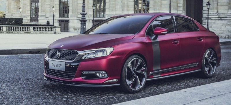 Citroen DS Brings Parisian Street Style to Beijing with DS 5LS -- 5LS R Version Packing 300HP! 27