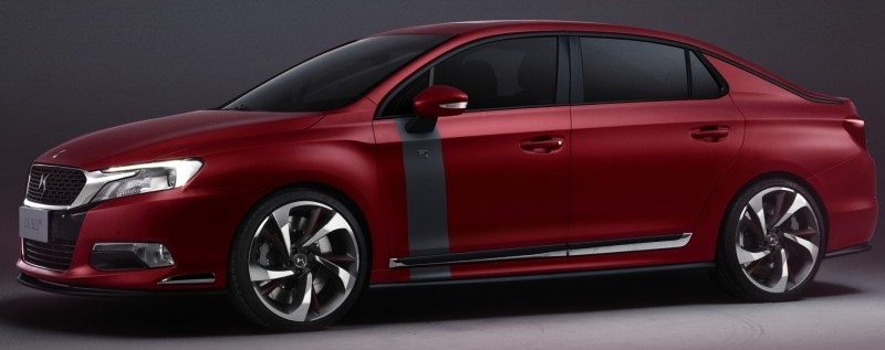 Citroen DS Brings Parisian Street Style to Beijing with DS 5LS -- 5LS R Version Packing 300HP! 32