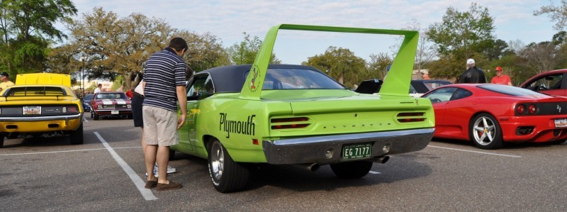 Classic Showcase -- 1970 Plymouth Road Runner Superbird at Charleston Cars Coffee 11