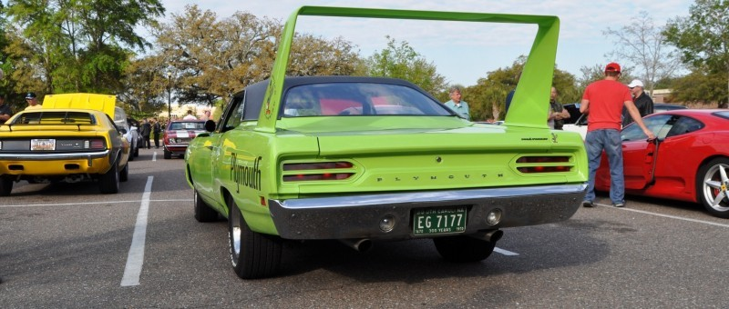 Classic Showcase -- 1970 Plymouth Road Runner Superbird at Charleston Cars Coffee 12