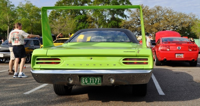 Classic Showcase -- 1970 Plymouth Road Runner Superbird at Charleston Cars Coffee 15