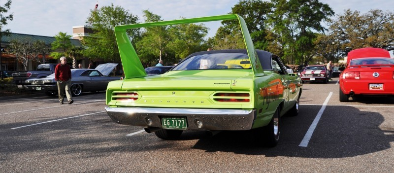 Classic Showcase -- 1970 Plymouth Road Runner Superbird at Charleston Cars Coffee 17