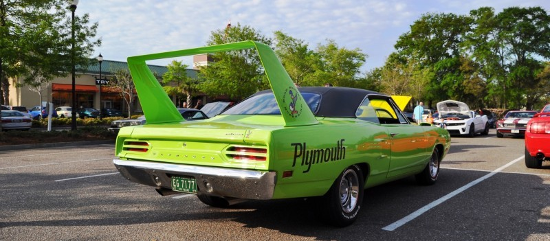 Classic Showcase -- 1970 Plymouth Road Runner Superbird at Charleston Cars Coffee 18