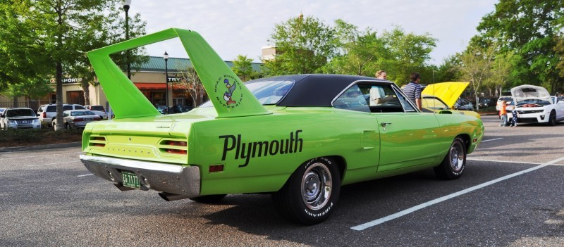 Classic Showcase -- 1970 Plymouth Road Runner Superbird at Charleston Cars Coffee 19