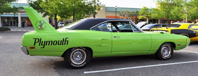 Classic Showcase -- 1970 Plymouth Road Runner Superbird at Charleston Cars Coffee 21