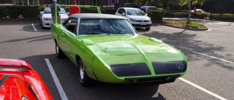 Classic Showcase -- 1970 Plymouth Road Runner Superbird at Charleston Cars Coffee 28