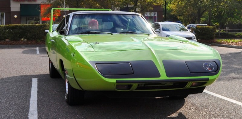 Classic Showcase -- 1970 Plymouth Road Runner Superbird at Charleston Cars Coffee 29