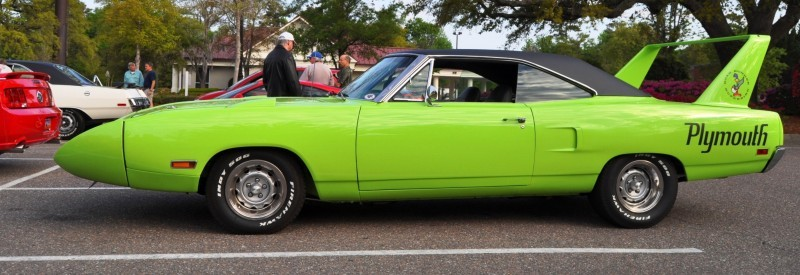 Classic Showcase -- 1970 Plymouth Road Runner Superbird at Charleston Cars Coffee 3