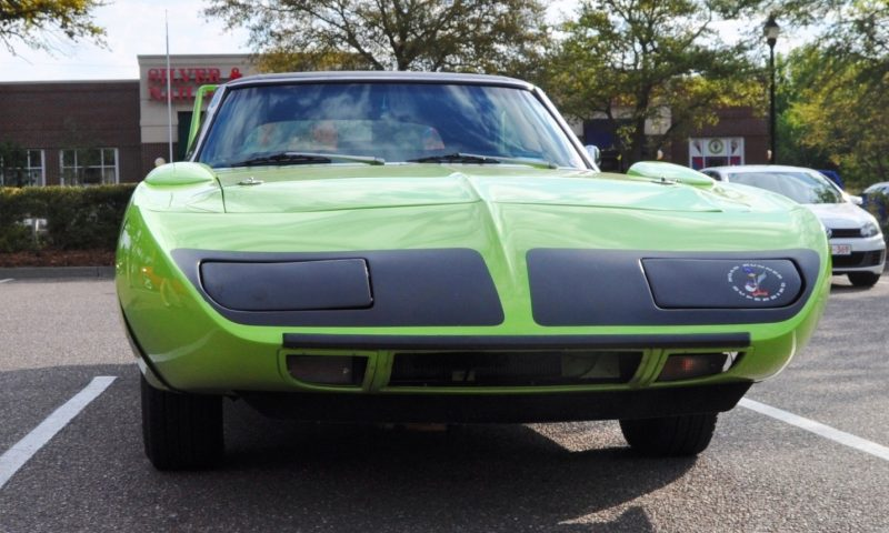Classic Showcase -- 1970 Plymouth Road Runner Superbird at Charleston Cars Coffee 30