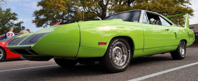 Classic Showcase -- 1970 Plymouth Road Runner Superbird at Charleston Cars Coffee 37