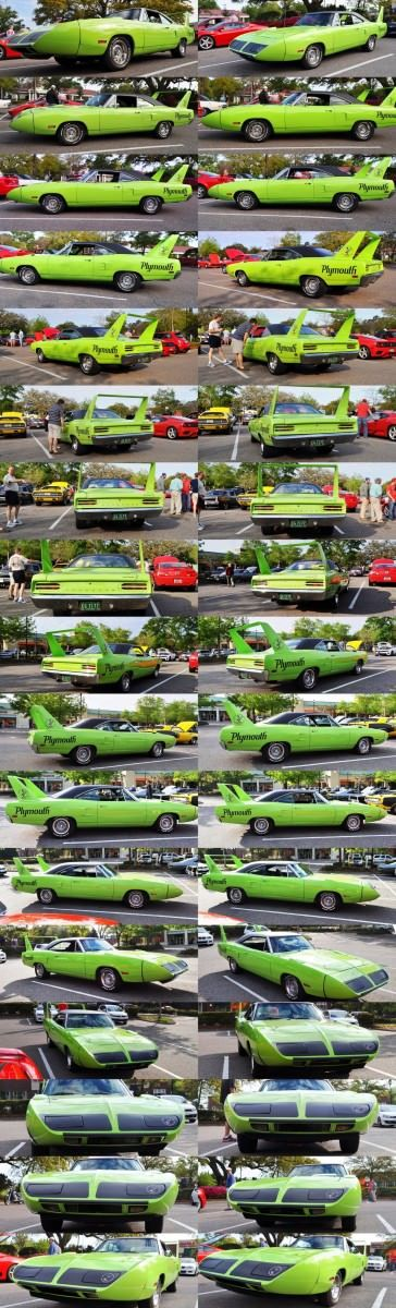 Classic Showcase -- 1970 Plymouth Road Runner Superbird at Charleston Cars Coffee 37-tile