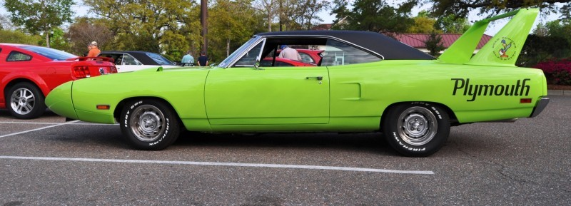 Classic Showcase -- 1970 Plymouth Road Runner Superbird at Charleston Cars Coffee 5