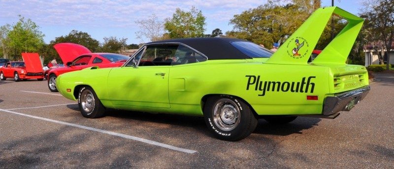 Classic Showcase -- 1970 Plymouth Road Runner Superbird at Charleston Cars Coffee 8