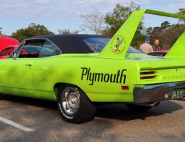 Musclecar Heroes — 1970 Plymouth Road Runner Superbird at Charleston Cars & Coffee