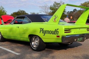 Classic Showcase -- 1970 Plymouth Road Runner Superbird at Charleston Cars Coffee  9