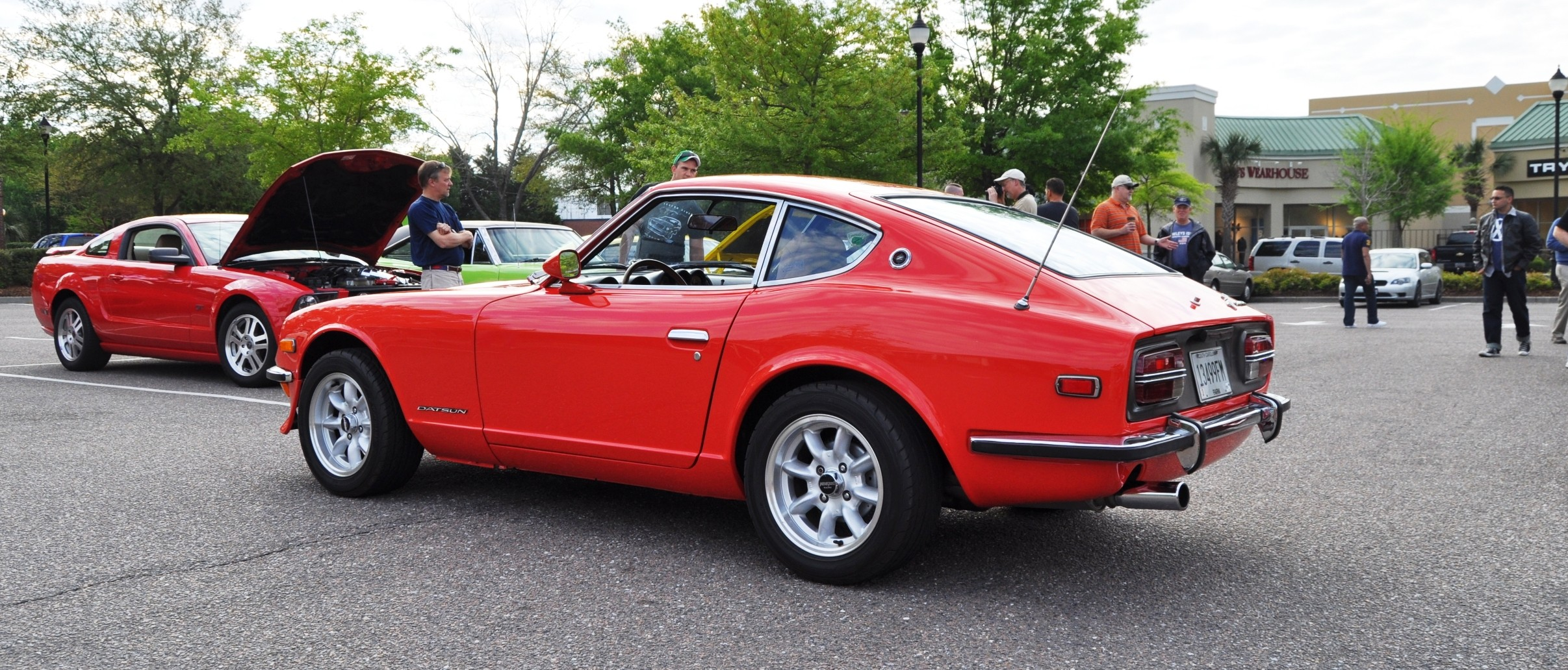 Classic Sports Cars -- Datsun 240z At Cars  U0026 Coffee