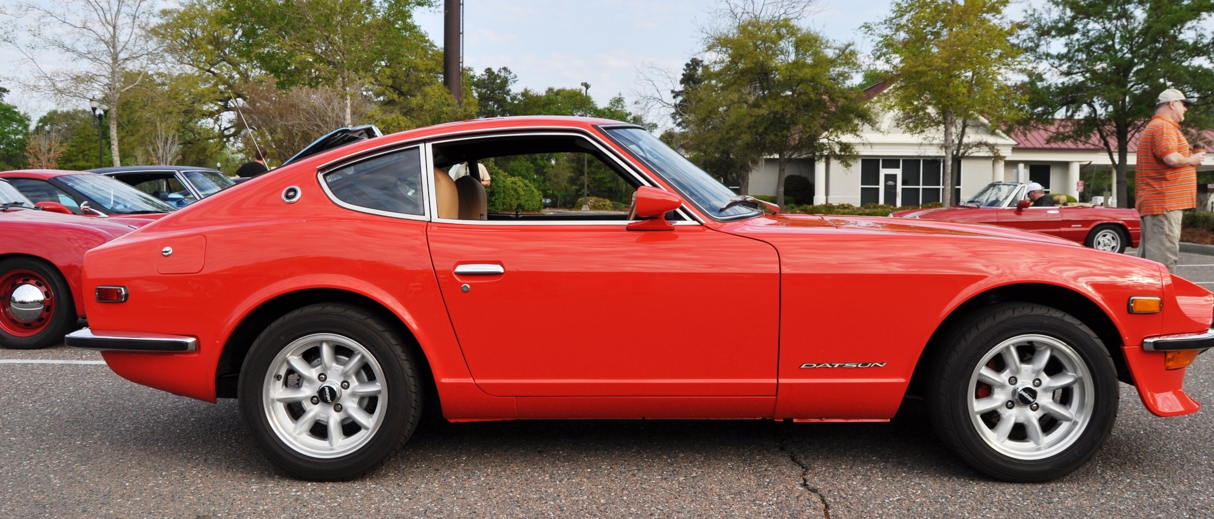 Toyota Of Orange >> Classic Sports Cars -- Datsun 240Z at Cars & Coffee -- Immaculate in 30 Glowing Orange Photos
