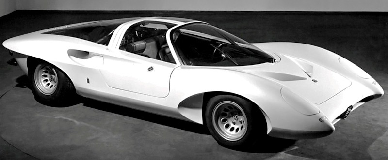Concept Flashback -- 1969 Alfa-Romeo Tipo 332 Coupe Speciale -- Gullwing Mid-Engine Supercar That Never Was 9