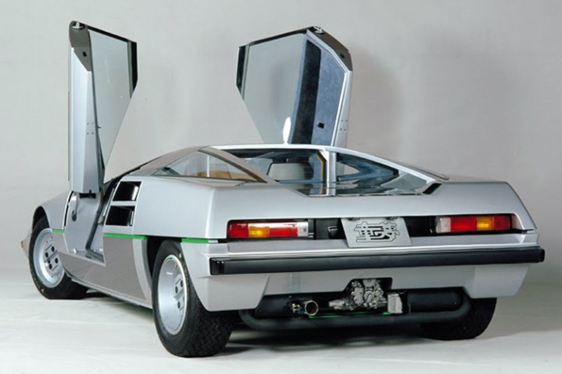Concept Flashbacks 1978 Nissan DOME Zero and 1987 Nissan MID4 Type II 11