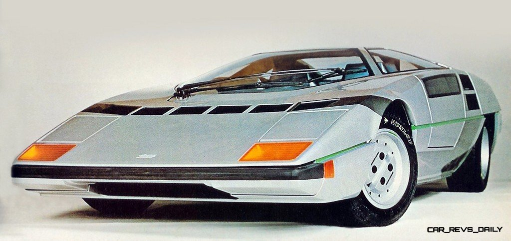 Concept Flashbacks 1978 Nissan DOME Zero and 1987 Nissan MID4 Type II 3