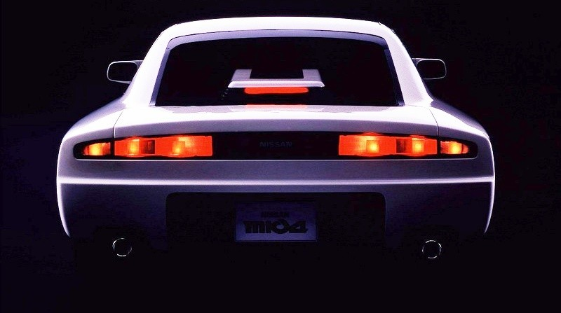 Concept Flashbacks 1978 Nissan DOME Zero and 1987 Nissan MID4 Type II 4