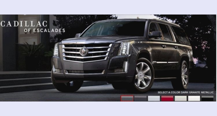 Escalade ESV Colors