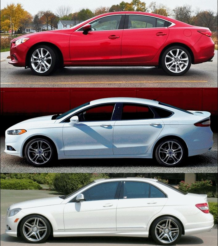FORD vs MAZDA6 Example1 GI