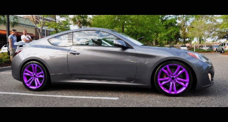 GENESIS COUPE Wheel COlorizer GIF