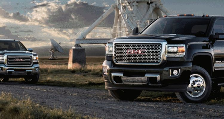 GMC 2500HD and 3500HD Denali Sierra Animation header