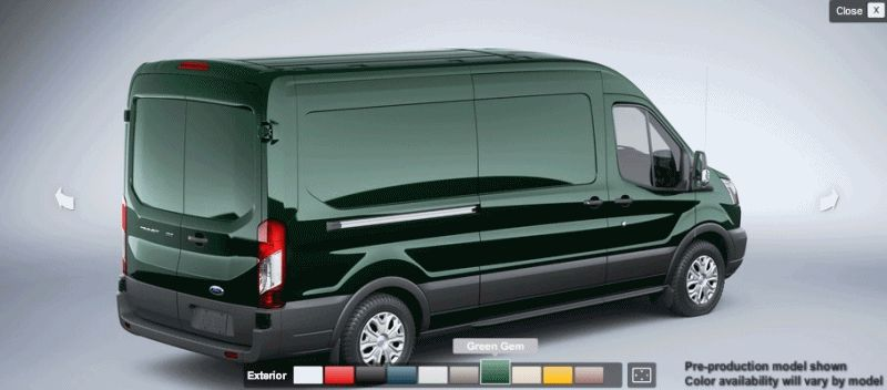 Ford Transit 150 Cargo Van >> 2015 Ford Transit Is Nearly Here! Summer 2014 Arrival ...