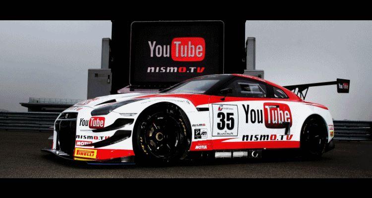 GT-R GT3 2014 Nurburgring GIF header