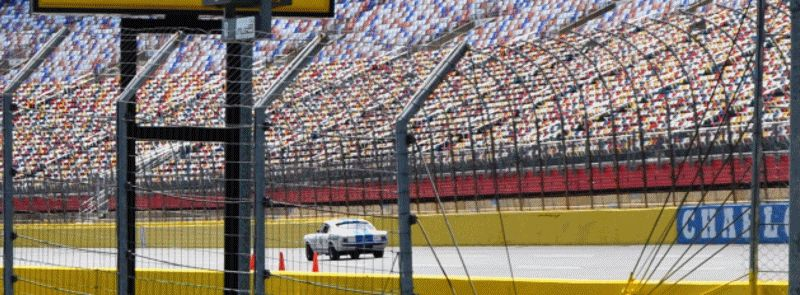 GT350 Mustang Track GIF1