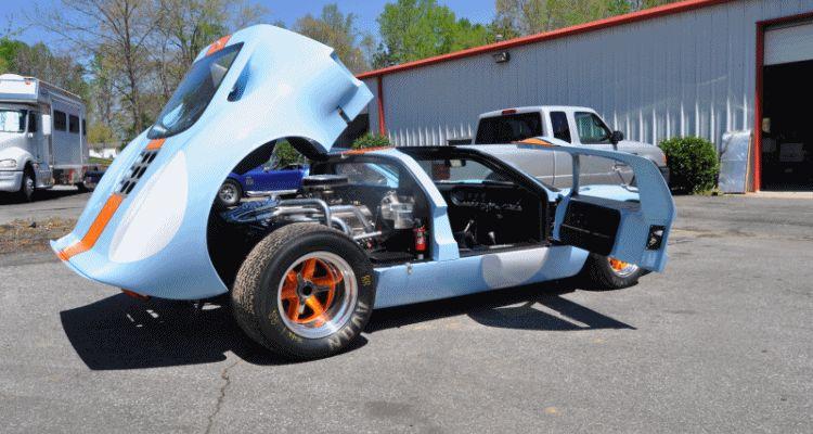 GT40 Header