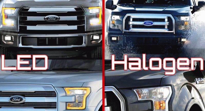 2015 FORD F150 Trims Colors