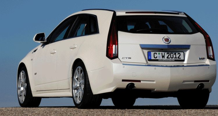 Header white Cadillac CTS-V Wagon222