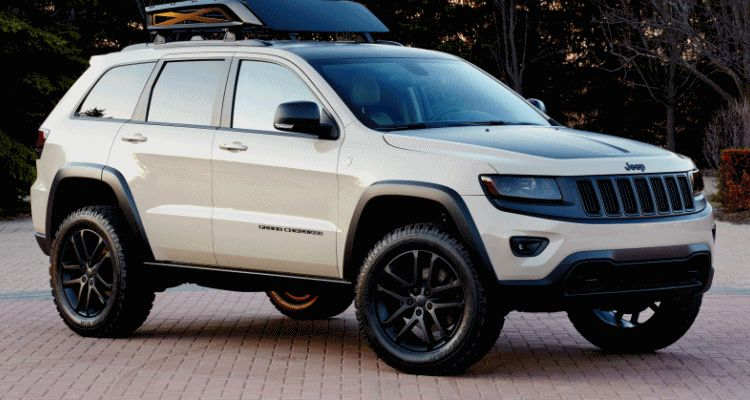 Jeep Cherokee and GC Moab 2014 MOPAR header GIF