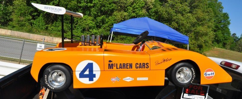 McLaren M8B Go-Kart Seeking Posh New Home, McLaren Owner Strongly Preferred 12