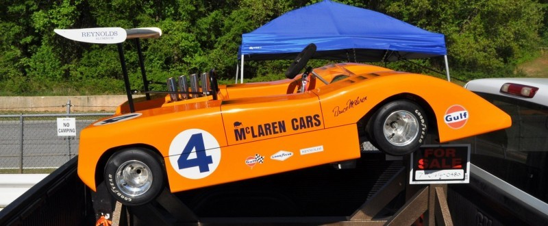 McLaren M8B Go-Kart Seeking Posh New Home, McLaren Owner Strongly Preferred 13