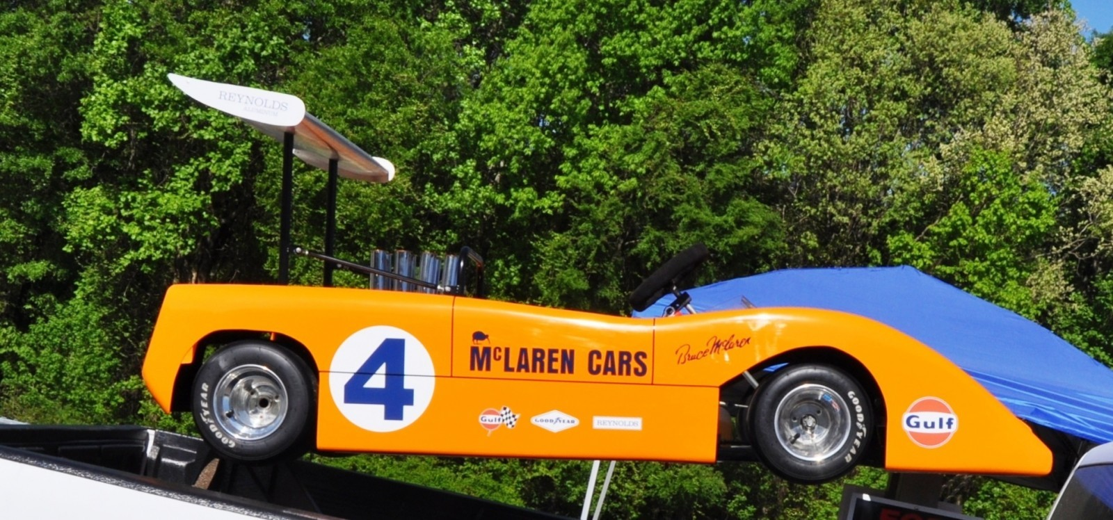 McLaren M8B Go-Kart Seeking Posh New Home, McLaren Owner Strongly Preferred 3