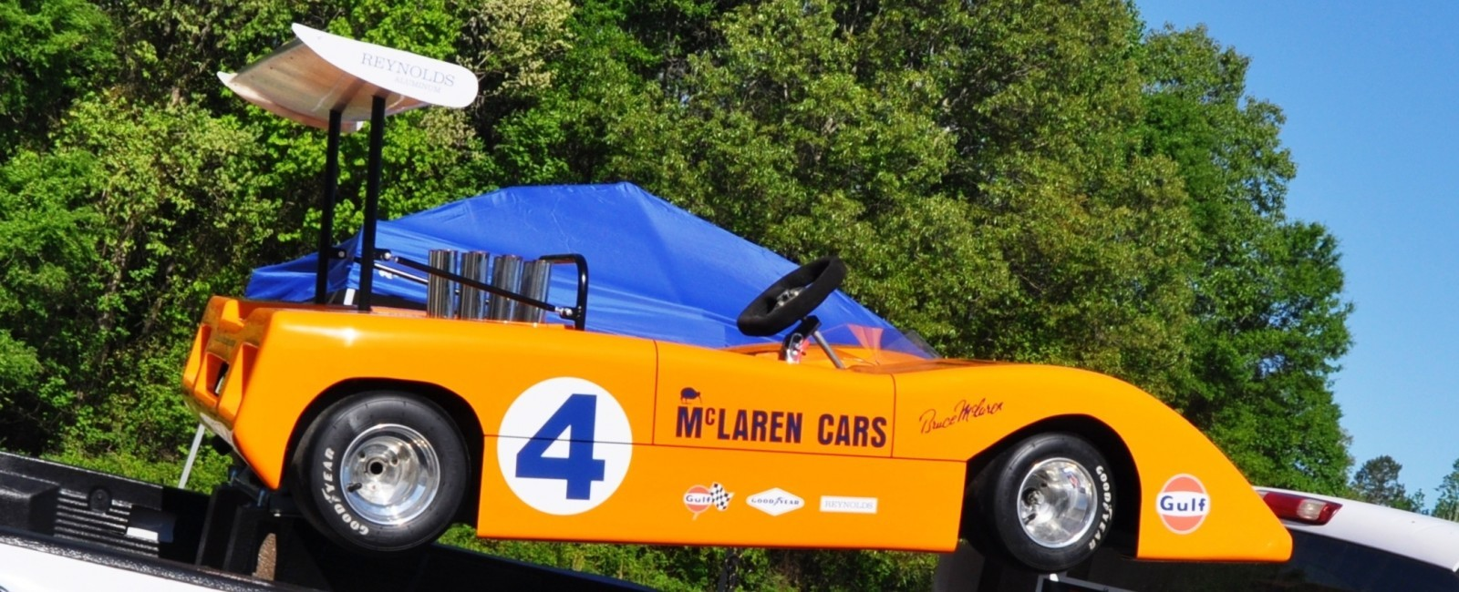 McLaren M8B Go-Kart Seeking Posh New Home, McLaren Owner Strongly Preferred 4
