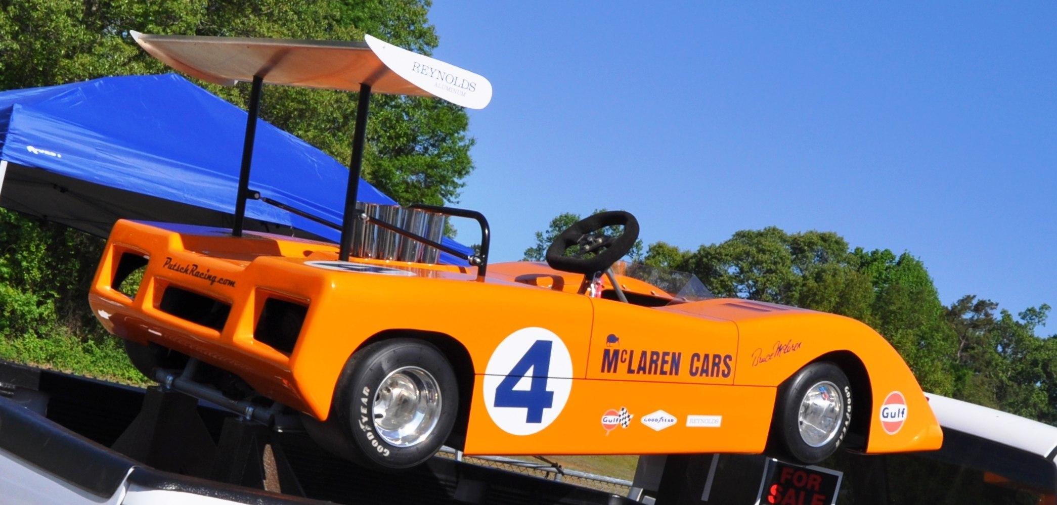 McLaren M8F meets M8B Go-Kart! Seeks Posh New Home; McLaren Owner ...
