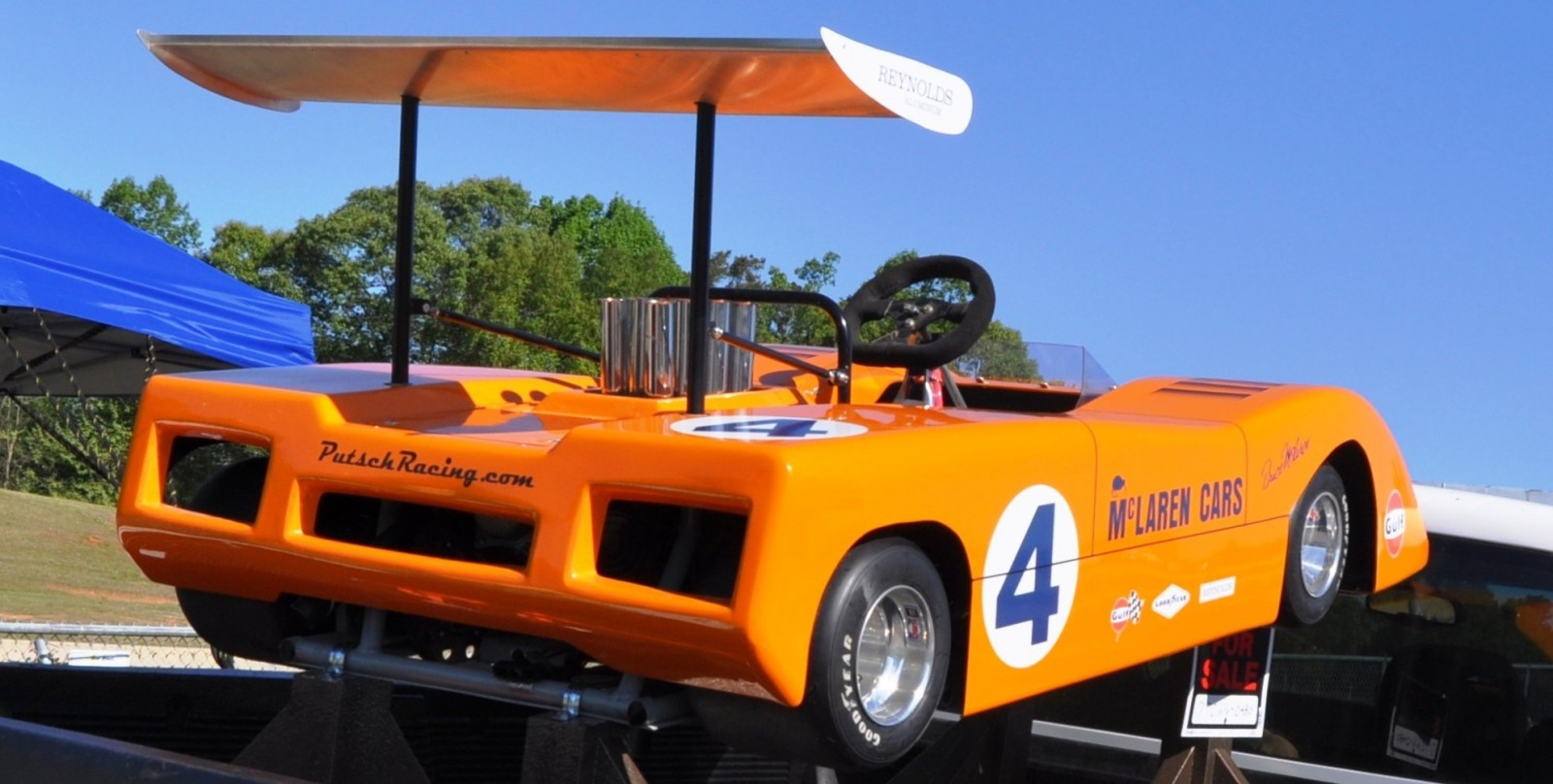McLaren M8B Go-Kart Seeking Posh New Home, McLaren Owner Strongly Preferred 6