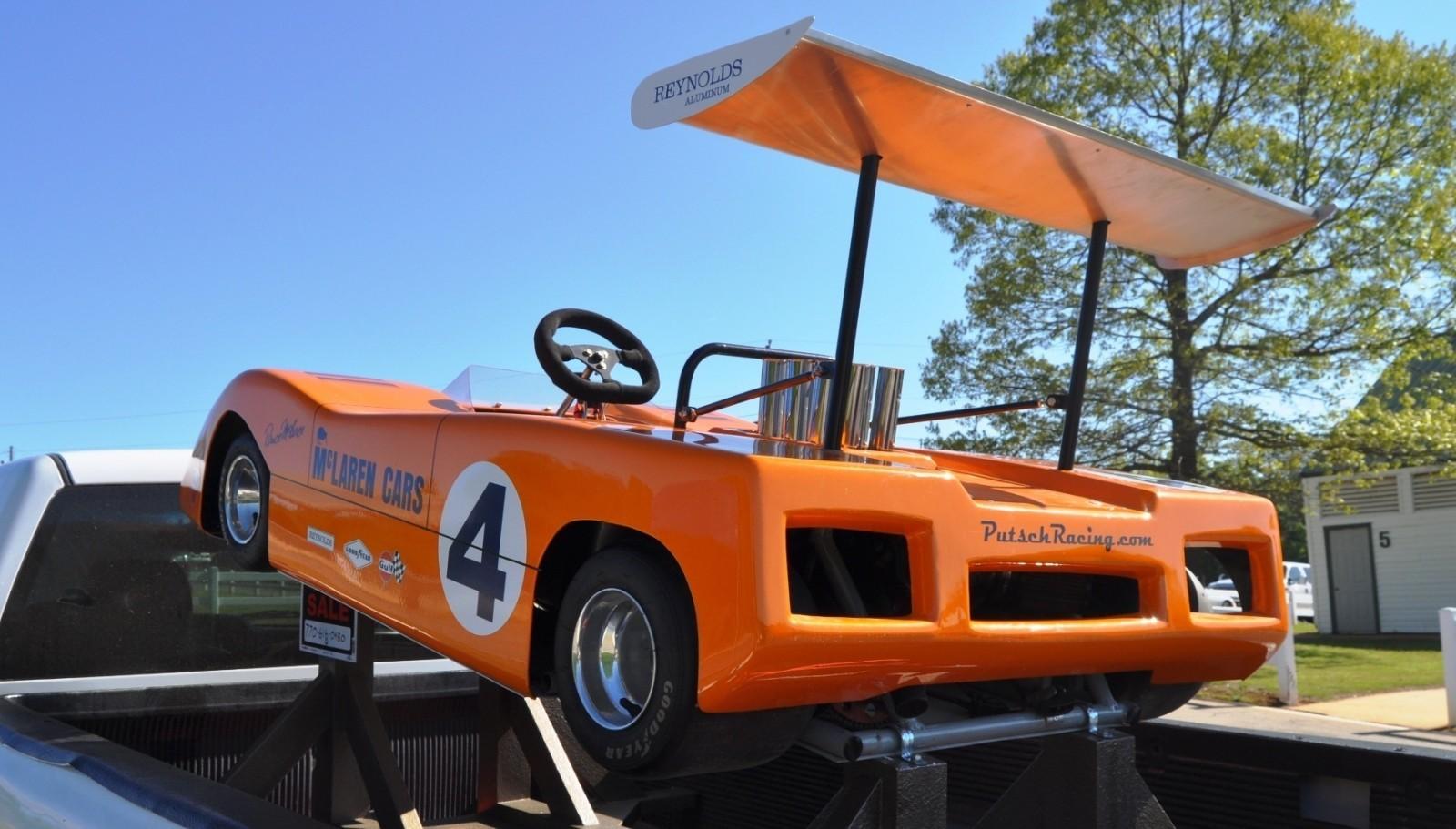 McLaren M8B Go-Kart Seeking Posh New Home, McLaren Owner Strongly Preferred 9