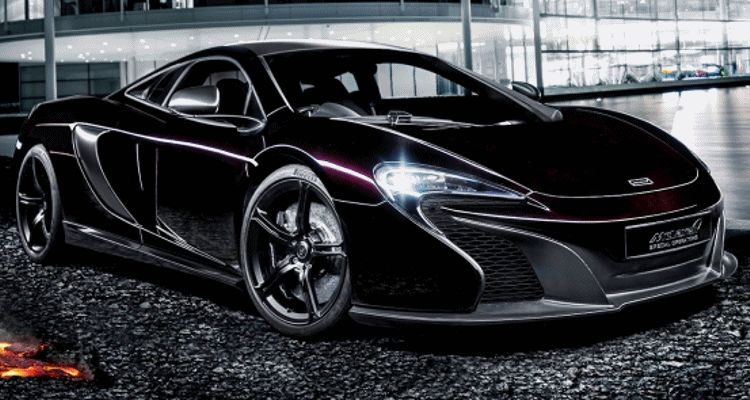 McLaren MSO 650S Concept ANimated GIF