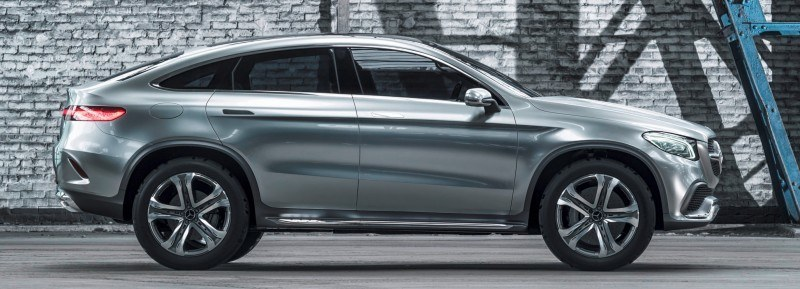 Mercedes Benz Concept Coupe Suv Beijing 2014 Sets New