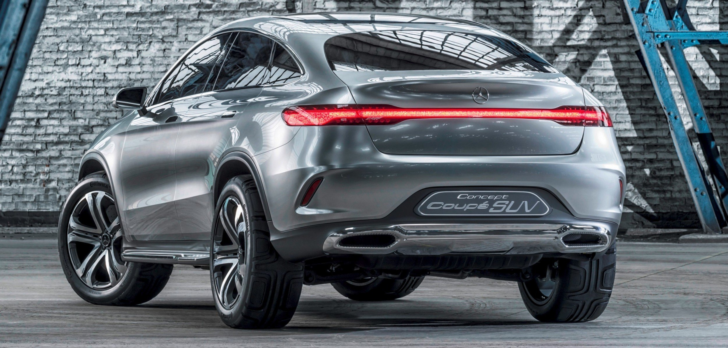 Mercedes Benz Concept Coupe Suv Beijing 2014 Sets New Design Direction