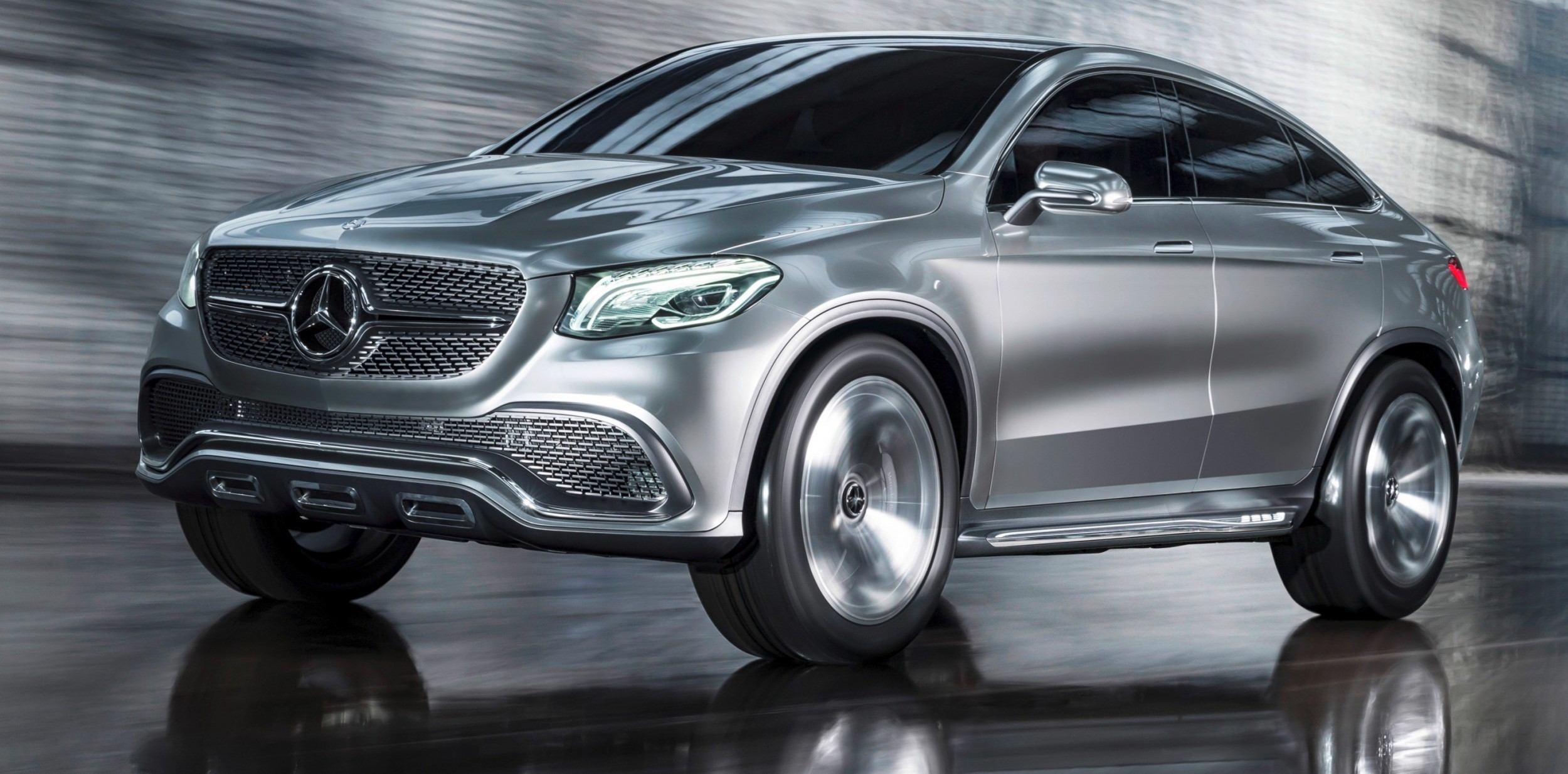 Mercedes benz concept coupe suv beijing 2014 sets new for Mercedes benz concept suv