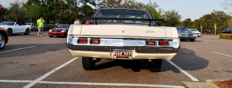Mini Musclecar Is Ready To Boogie! 1973 Dodge Dart Swinger at Charleston, SC Cars and Coffee 18