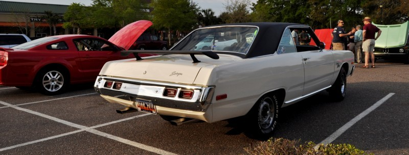 Mini Musclecar Is Ready To Boogie! 1973 Dodge Dart Swinger at Charleston, SC Cars and Coffee 21